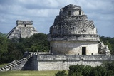 Observatory or El Caracol, Chichen Itza Photographic Print