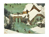 The Hunters in the Snow Giclee Print by Pieter the Elder Bruegel