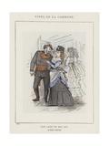 Une Loge En Mai 1871, Au Canard a Trois Becs Giclee Print by Charles Albert d'Arnoux Bertall