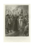 Execution of the Inca Giclee Print by Alonzo Chappel