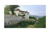 View of Piagentina, 1863 Giclee Print by Silvestro Lega