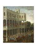Amazons' Banquet Giclee Print by Claude Deruet