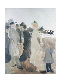 Studio for Racing I Giclee Print by Giuseppe De Nittis