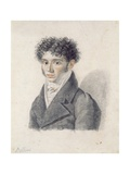 Portrait of Vincenzo Bellini Giclee Print by Francois Xavier Fabre