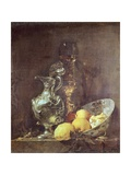 Still Life with Silver Pitcher Giclee Print by Willem Kalf