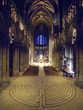 Labyrinth, Chartres Cathedral, France Photographic Print