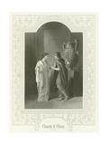 Comedy of Errors, Act III, Scene II Giclee Print by Joseph Kenny Meadows