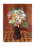 Bouquet in Purple Vase Giclee Print by William James Glackens