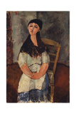 Little Louise, 1915 Giclee Print by Amedeo Modigliani