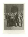 The Inauguration of Washington Giclee Print by Alonzo Chappel