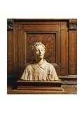 Terracotta Bust Giclee Print by  Donatello