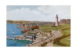 Plymouth, from the Citadel Giclee Print by Alfred Robert Quinton