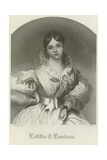 Letitia Elizabeth Landon Giclee Print by Daniel Maclise