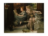 Comparison, 1892 Giclee Print by Sir Lawrence Alma-Tadema