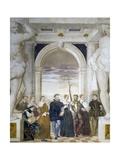 Dance Invitations Giclee Print by Giovanni Antonio Fasolo