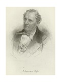 James Fenimore Cooper Giclee Print by Mathew Brady