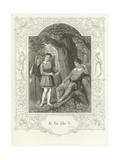As You Like It, Act III, Scene II Giclee Print by Joseph Kenny Meadows