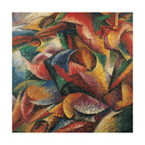 Dynamism of a Human Body Giclee Print by Umberto Boccioni