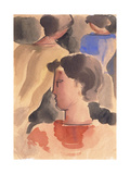 Group with Red Boy; Gruppe Mit Rotem Knaben, 1931 Giclee Print by Oskar Schlemmer