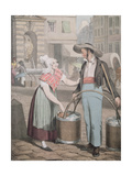 The Water Carrier, 1821 Giclee Print by John James Chalon