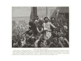 We Want Barabbas Giclee Print by Charles Louis Lucien Muller