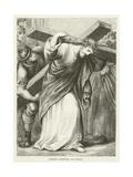 Christ Carrying His Cross Giclée-tryk