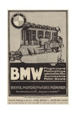 Advertisement for Bmw Engines Giclee Print