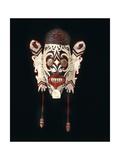 Hudok Neng Kayan Mask Giclee Print