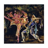 One of Stravinsky's Masterpieces Is the Firebird Giclee Print