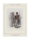 Le Ministre De La Guerre, Le Citoyen Delescluze Giclee Print by Charles Albert d'Arnoux Bertall