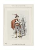 Un Citoyen Moldo-Valaque Giclee Print by Charles Albert d'Arnoux Bertall