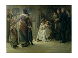 Newgate - Committed for Trial, 1878 Giclee Print by Frank Holl