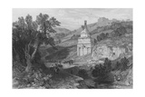 Absalom's Tomb, Near Jerusalem Giclee Print by Thomas Allom