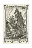 Sir Mordred Giclee Print by Henry Justice Ford
