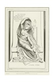 Allegory of Thought Giclee Print by Henri Michel Antoine Chapu