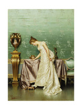 A New Pair of Shoes Giclee Print by Vittorio Reggianini