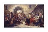Serf Emancipation Giclee Print by Edward A. Armitage