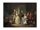 Gohin Family, 1787 Giclee Print by Louis-Leopold Boilly