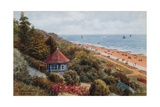 Spa Pavilion Gardens, Felixstowe Giclee Print by Alfred Robert Quinton