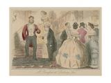 Mr Romford at Dalberry Lees Giclee Print by John Leech