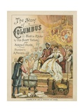 Columbus at the Court of Ferdinand and Isabella Giclee Print by Andrew Melrose