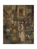 Siege of Totila, 1461-1466 Giclee Print by Benedetto Bonfigli