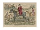 Simon Heavy-Side and His Hounds Giclee Print by John Leech