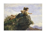 Contemplation, 1872 Giclee Print by Filippo Palizzi