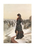 The Skater Giclee Print by Edward John Gregory