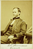 Portrait Photograph of William Tecumseh Sherman Photographic Print by Mathew Brady