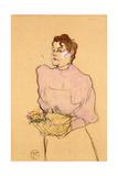 The Flower-Seller, 1894 Lámina giclée por Henri de Toulouse-Lautrec