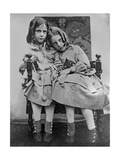 Portrait of Two Young Girls, C.1853 Giclee Print by John Gregory Crace