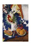 Still Life with Gladioli, 1995 Giclee Print by Pedro Diego Alvarado