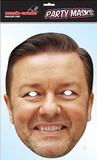Ricky Gervais Celebrity Face Mask Masques